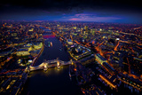Sky View London II Giclee Print by Jason Hawkes