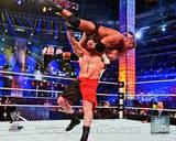 Brock Lesnar Wrestlemania 29 Action Photo