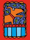 Urban Dogs I Giclee Print by Anne Leuck Feldhaus