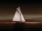 Lady Anne Sailing Sepia Giclee Print by Ben Wood