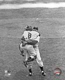 Don Larsen & Yogi Berra Game 5 of the 1956 World Series Photo