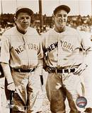 Babe Ruth et Lou Gehrig - ©Photofile Photographie