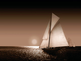 Heading Out Sepia Giclee Print by Ben James