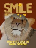 Smile IV Giclée-Druck von Ken Hurd