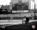 Don Larsen - Perfect Game - 1st Pitch Photo