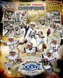 Patriots - 3 Time Super Bowl Champions Composite Photo