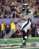Brian Westbrook - Super Bowl XXXIX - 10 Yard Touch Down Pass Celebration Photo