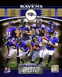 Baltimore Ravens 2012 Team Composite Photo