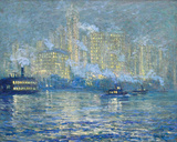 Manhattan Giclee Print by Jonas Lie