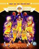 2012-13 Los Angeles Lakers Team Composite Photo