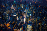 Sky View New York III Giclee Print by Jason Hawkes