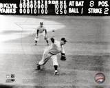 Don Larsen - Perfect Game - Last Pitch Photo