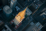 Sky View New York II Giclee Print by Jason Hawkes