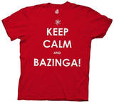The Big Bang Theory - Keep Calm and Bazinga T-Shirt