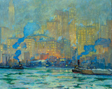 Afterglow Giclee Print by Jonas Lie