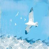 Coastal Days II Impression giclée par Ken Hurd