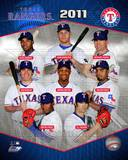 2011 Texas Rangers Team Composite Photo
