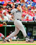 Adrian Gonzalez 2012 Action Photo