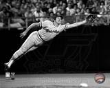 Brooks Robinson - 1973 Diving Catch, B&W Photo