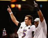 Joe Flacco & Ray Lewis Super Bowl XLVII Celebration Photo