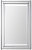 Edessa Beveled Step Mirror Wall Mirror by Jonathan Wilner/ Kelly Stevenson