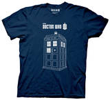 Doctor Who - Linear Tardis Shirts