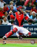 Brian McCann 2013 Action Photo