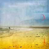The Kite Surfer Giclee Print by Pete Kelly