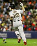 Buster Posey 2 Run Home Run Game 4 of the 2012 World Series Action Photo