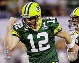 Aaron Rodgers Action from Super Bowl XLV (19) Photo