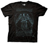 Doctor Who - Vitruvian Angel T-Shirt