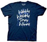 Doctor Who - Wibbly Wobbly T-shirts