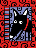 Urban Dogs III Giclee Print by Anne Leuck Feldhaus