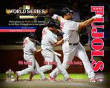 Albert Pujols 3 Home Runs World Series Composite (24) Photo