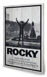 Rocky - Rocky 1 Znak drewniany