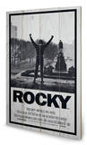 Rocky - Rocky 1 Wood Sign Wood Sign