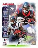 Arian Foster 2012 Portrait Plus Photo