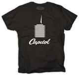 Capitol Records - Tower on Black Shirt