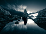 Human Scale II Giclee Print by David Keochkerian