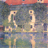 The Schloss Kammer Giclee Print by Gustav Klimt