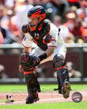 Buster Posey 2011 Action Photo