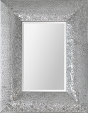 Hamlet Chrome Hammered Mirror Wall Mirror by Kelly Stevenson