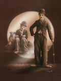 Charlie Chaplin Giclee Print by Stuart Coffield