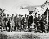 Abraham Lincoln, General George McClellan and Union Troops Photo