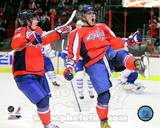 Alex Ovechkin & Nicklas Backstrom 2010-11 Action Photo