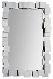 Whitley Stacked Mirror Wall Mirror by Jonathan Wilner/ Kelly Stevenson