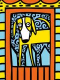 Urban Dogs IV Giclee Print by Anne Leuck Feldhaus