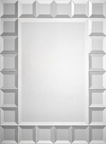 Emma Tiled Square Mirror Wall Mirror