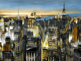 Big City II Giclee Print by Alan Lambert