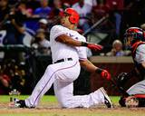 Adrian Beltre Home Run Game 5 of the 2011 MLB World Series Action(19) Photo